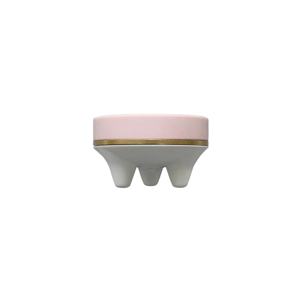 Mini incense burner _ pale pink
