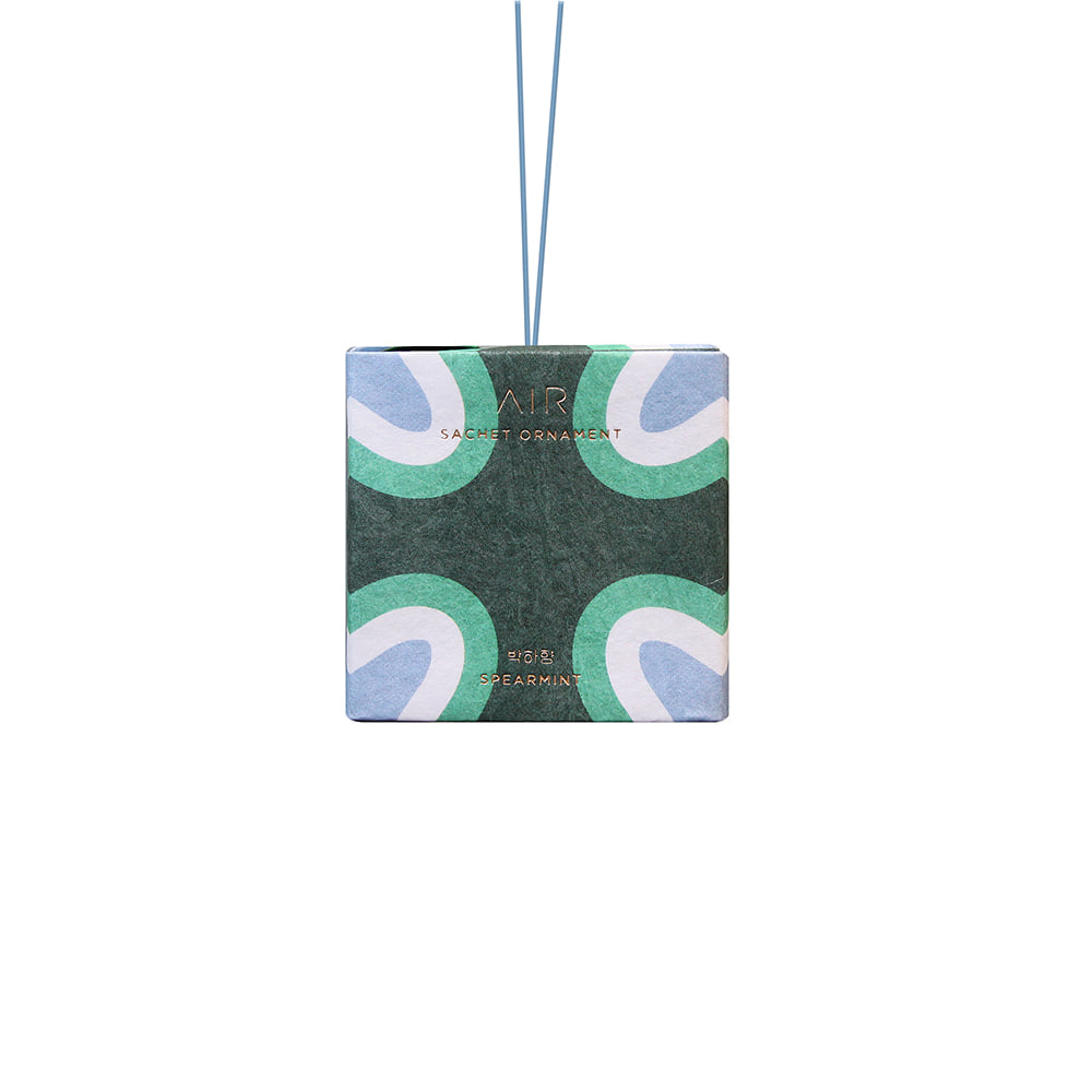 Sachet ornament _ spearmint