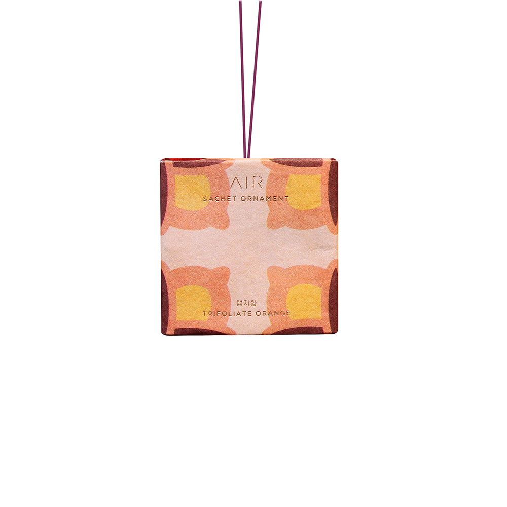 Sachet ornament _ trifoliate orange